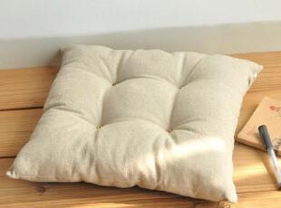 原创素色亚麻 坐垫台垫 飘窗垫窗台垫椅子垫 沙发垫/垫子/定做,沙发垫,