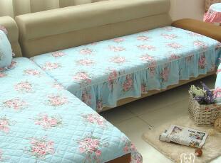 幸运狗 绗缝布艺沙发垫 阿迪丽娜 贵妃防滑沙发垫 田园风格 新品,沙发垫,