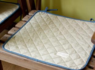 【4个包邮】夏季棉麻绗缝布艺椅垫坐垫餐椅垫餐椅垫子坐垫可定制,沙发垫,