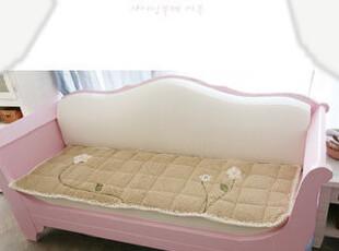 韩国进口代购 超美加厚花朵短绒沙发垫/飘窗垫 地垫 推荐!,沙发垫,