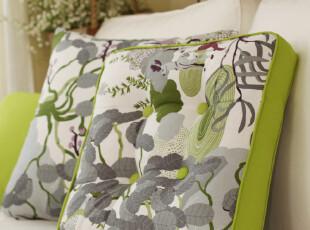 北欧简约 森系 纯棉 蒲团垫 胖子垫 坐垫 椅垫 地垫 童话谷系列,沙发垫,