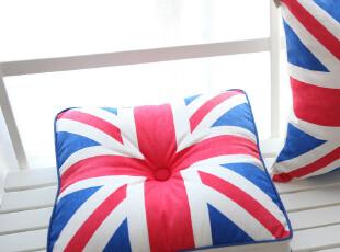 英伦风-椅垫\ 坐垫\胖子垫\ 地垫/蒲团-时尚潮流风尚【米字旗】,沙发垫,