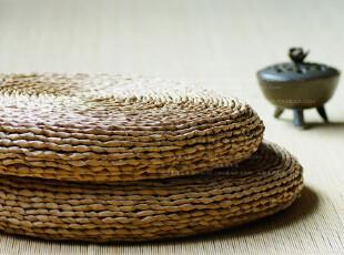 【日本订单,超值特惠】玉米皮手工编蒲团 特惠 0069,沙发垫,