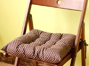 「GUIA'S」老屋家居布艺咖啡圆点波点加厚暖和胖子泡芙坐垫椅垫,沙发垫,