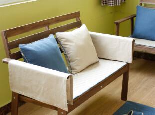 老屋家居布艺夏天纯棉麻绗缝防滑坐垫沙发垫子地垫飘窗垫可定制,沙发垫,