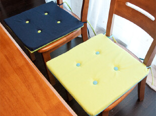 6件包邮 时尚色彩 纯棉帆布椅子垫|坐垫|餐椅垫|榻榻米43*43cm,沙发垫,