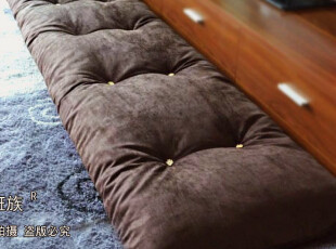 部分免邮尚班族可订制定做飘窗坐垫地垫胖子垫宜家风格可拆洗木扣,沙发垫,
