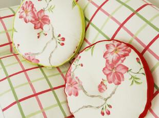 甜美田园风-圆榻榻米 椅垫 坐垫 胖子垫 地垫 瑞丽莺歌,沙发垫,