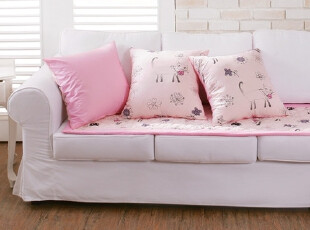 【Asa room】韩国进口代购 公主粉色沙发垫地毯爬行垫正品dc146-p,沙发垫,