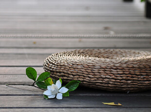 【天天特价】森系手编蒲团 打坐垫瑜伽垫禅垫 窗台垫蒲草坐垫加厚,沙发垫,