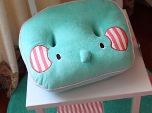 很可爱 马戏小象双孔坐垫 大象透气坐垫 0.5KG,沙发垫,