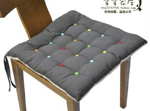 宜家风格 简约风 灰白彩点 餐椅垫 坐垫 座垫 椅子垫 椅垫,沙发垫,
