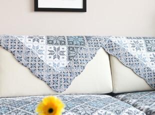 9701 绗缝沙发垫 纯棉 沙发垫坐垫布艺 沙发坐垫 飘窗垫 田园 3色,沙发垫,