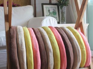 日单 珊瑚绒美臀垫护臀垫坐垫蒲垫 直径45mm 加厚,沙发垫,
