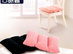 眠趣 慢生活坐垫 记忆棉 加厚办公室椅垫 椅子可爱座垫 可拆洗,沙发垫,