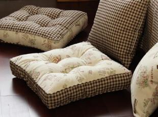 zakka 复古田园 棉麻 蒲团垫 胖子垫 加厚坐垫 椅垫 庭院系列,沙发垫,