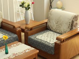 6008*字母拼块 绗缝 沙发垫 坐垫 布艺 沙发坐垫 沙发垫纯棉,沙发垫,