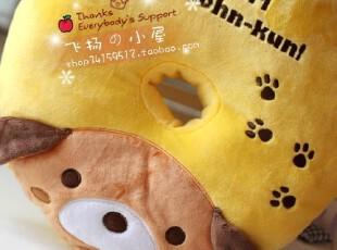 超爱~San-X/Rilakkuma 轻松小熊麦圈单孔坐垫 0.3KG,沙发垫,