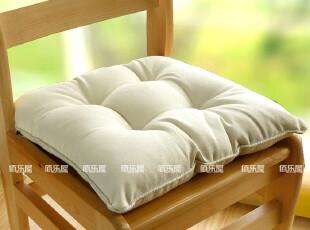 出口日本 全棉坐垫/椅垫/胖子垫/厚垫/榻榻米垫(乳白40*40),沙发垫,
