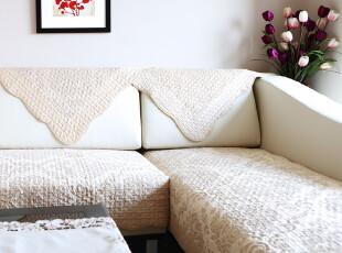 超柔短毛绒绗缝 沙发垫坐垫布艺 沙发坐垫 毛绒 飘窗垫 冬季2色入,沙发垫,