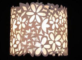 【贝格】Y7229现代简约宜家镂空雕花吊灯卧室灯餐厅灯客厅灯,灯具,