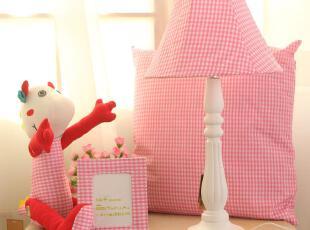 包邮 田园布艺卡通台灯 卧室床头灯创意四件套灯具女人喜欢的礼物,灯具,