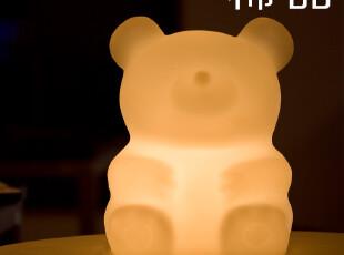 香港设计 创意设计小熊造型节能环保灯具 创意礼品台灯 涂鸦灯,灯具,