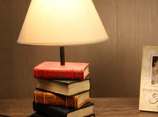 夜色迷人 书本台灯/卧室灯/桌灯 出口外贸工艺品/摆设品,灯具,