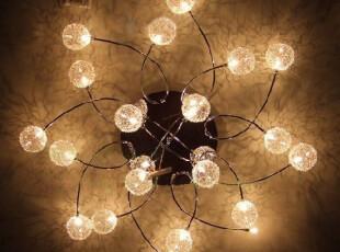 个性凤凰灯客厅灯现代吸顶灯6头璀璨温馨灯简约20卧室灯时尚灯具,灯具,