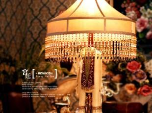 「MAGRACE」【普鲁登斯】东南亚风情大象造型台灯 卧室客厅台灯,灯具,