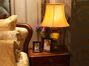 芮诗凯诗新品 瑞芬森橙爱之心欧式树脂卧室床头台灯书房台灯,灯具,