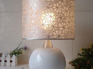 大促65现代简约时尚欧式台灯卧室床头灯饰灯具有触摸调光创意家居,灯具,