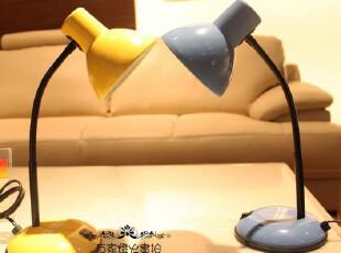 特价!优质糖果色4色现代卧室床头看书学生学习工作台灯/宜家风格,灯具,