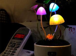 LYL正品 阿凡达七彩蘑菇灯 浪漫礼物 光控小夜灯 500-600g,灯具,
