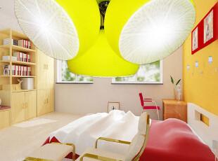 N尚朵儿童房灯可爱 三头柠檬灯卧室灯吸顶灯创意 儿童灯具吸顶灯,灯具,