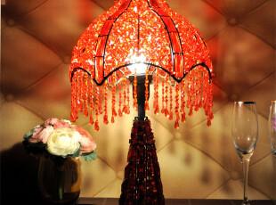 尼泊尔新房台灯/酒吧餐厅店面铁艺装饰/浪漫卧室床头灯/婚庆礼物,灯具,
