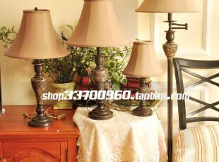 灯具 欧式 客厅 落地灯 现代 美式 简欧灯 布艺 卧室 书房 床头灯,灯具,