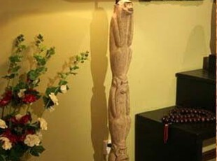 新中式古典艺术现代家居装饰落地灯-三只猴子灯,灯具,