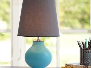 野马灯饰 北欧台灯 简约卧室床头台灯 客厅台灯,灯具,