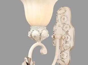 【特价】铁艺欧式田园简约壁灯客厅卧室床头灯过道阳台创意灯具饰,灯具,