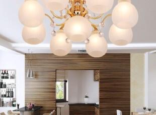GEERUD现代时尚奢华水晶灯吸顶灯具客厅灯卧室灯简约餐厅灯饰5336,灯具,