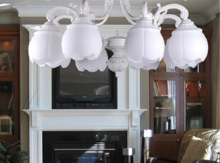 【龟兔】现代 简约豪华欧式灯 地中海风情客厅灯 吸顶灯 5181-8,灯具,