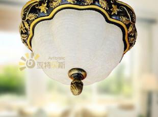 【亚特贝斯灯饰】欧式多边形树叶雕花房间过道吸顶灯MX7003,灯具,