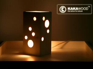 kakawood实木台灯  温馨小夜灯,灯具,