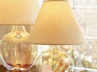北欧宜家台灯 创意时尚DIY玻璃台灯 床头卧室调光灯 客厅灯饰包邮,灯具,