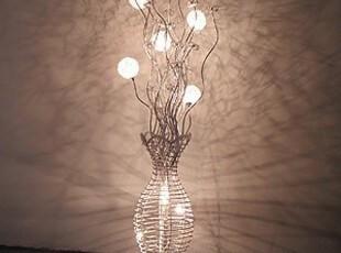 【广域】时尚铝材客厅花瓶落地灯餐厅灯装饰灯具灯饰8114-8,灯具,