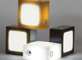 【纽约下城公园】  Moma(现代美术馆)设计系列 巧克力色积木灯,灯具,