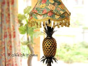 维恩萨瓦 欧式树脂创意台灯卧室床头灯具客厅卧室灯 镂空雕花工艺,灯具,