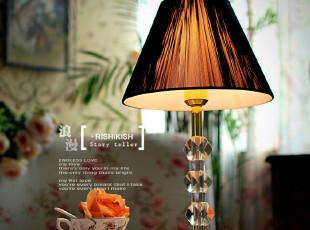 欧式新古典风格 库内泽 水晶台灯 装饰客厅书房卧室床头台灯,灯具,