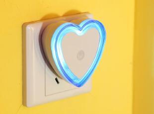 爆款 LED创意光控感应节能灯宝宝儿童床头炫彩小夜灯婴儿房墙壁灯,灯具,